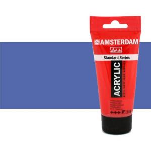 Acrílico Amsterdam color azul ultramar violeta claro (250 ml)
