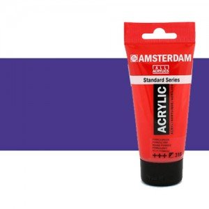 Acrílico Amsterdam color azul ultramar violeta (250 ml)