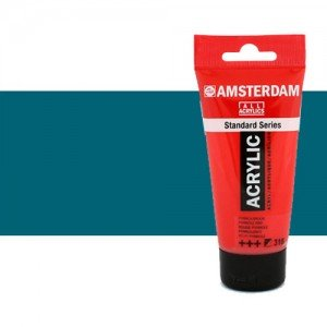 Acrílico Amsterdam n. 557 color azul verdoso (250 ml)