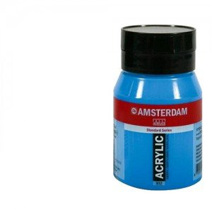 Acrílico Amsterdam n. 105 color blanco titanio (500 ml)