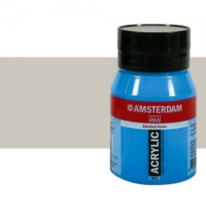 Acrílico Amsterdam color buff titanio oscuro (500 ml)