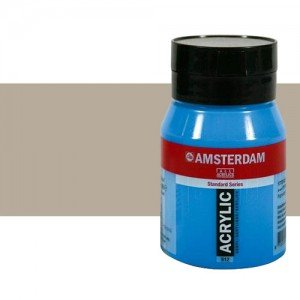 Acrílico Amsterdam color gris cálido (500 ml)