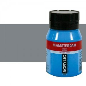Acrílico Amsterdam n. 710 color gris neutro (500 ml)