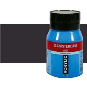 Acrílico Amsterdam n. 702 color negro bujía (500 ml)