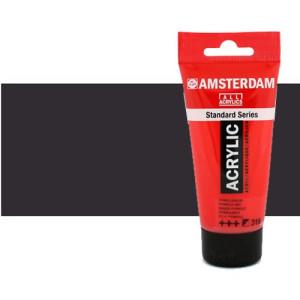 Acrílico Amsterdam n. 702 color negro bujía (250 ml)