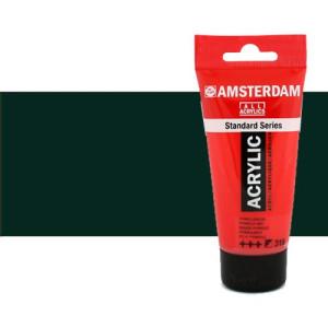 Acrílico Amsterdam color negro óxido (250 ml)