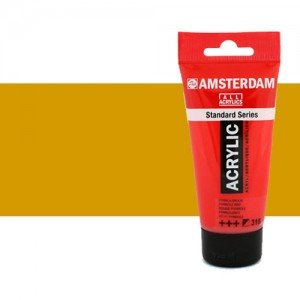 Acrílico Amsterdam color ocre amarillo (250 ml)