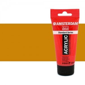 Acrílico Amsterdam n. 231 color ocre oro (250 ml)