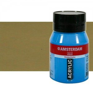 Acrílico Amsterdam n. 802 color oro claro (500 ml)