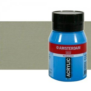 Acrílico Amsterdam n. 800 color plata (500 ml)