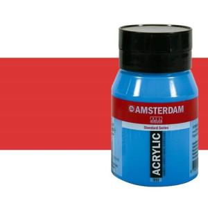 Acrílico Amsterdam n. 398 color rojo naftol claro (500 ml)