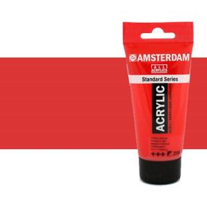 Acrílico Amsterdam color rojo naftol claro (250 ml)