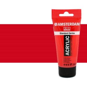 Acrílico Amsterdam color rojo naftol oscuro (250 ml)