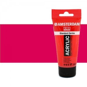 Acrílico Amsterdam color rojo permanente púrpura (250 ml)