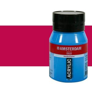 Acrílico Amsterdam color rosa quinacridona (500 ml)