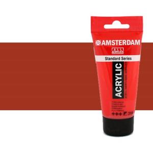 Acrílico Amsterdam n. 411 color siena tostada (250 ml)