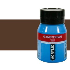 Acrílico Amsterdam n. 409 color sombra tostada (500 ml)