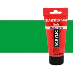 Acrílico Amsterdam color verde brillante (250 ml)