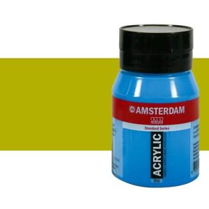 Acrílico Amsterdam n. 621 color verde oliva claro (500 ml)