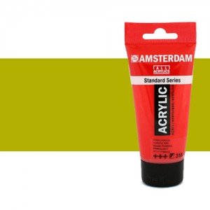 Acrílico Amsterdam color verde oliva claro (250 ml)