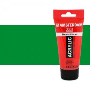 Acrílico Amsterdam color verde permanente claro (250 ml)