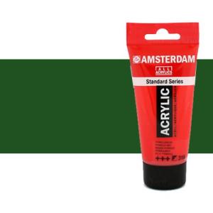 Acrílico Amsterdam color verde vejiga (250 ml)