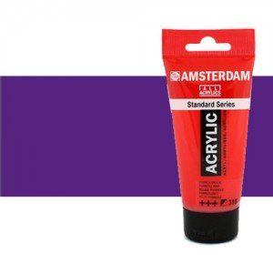 Acrílico Amsterdam color violeta azul permanente (250 ml)