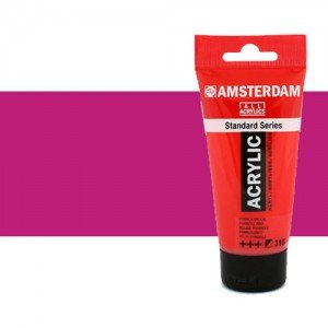 Acrílico Amsterdam color violeta rojo permanente claro (250 ml)