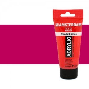 Acrílico Amsterdam color violeta rojo permanente (250 ml)