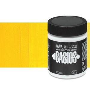 Acrílico Liquitex Basics color tono amarillo cadmio medio (946 ml)