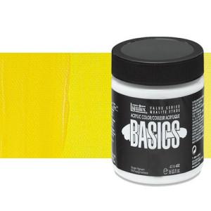 Acrílico Liquitex Basics color amarillo primario (946 ml)