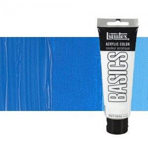 Acrilico Liquitex Basics Tono Azul Ceruleo, 118 ml.