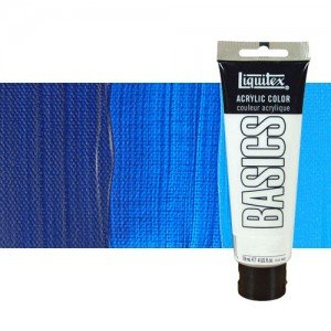 Acrílico Liquitex Basics color azul primario (118 ml)