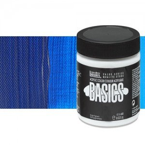 Acrílico Liquitex Basics color azul primario (946 ml)