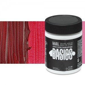 Acrílico Liquitex Basics color carmesí alizarina tono (946 ml)