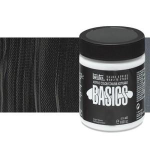 Acrílico Liquitex Basics color negro Marte (946 ml)