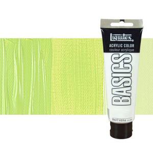 Acrílico Liquitex Basics color verde amarillo brillante (118 ml)