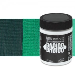 Acrílico Liquitex Basics color verde ftalocianina (946 ml)