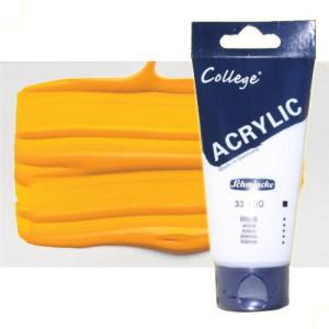 totenart-acrilico-schmincke-college-amarillo-indio-200-ml