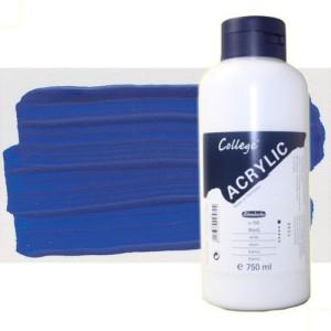 Acrílico Schmincke color azul cobalto (750 ml)