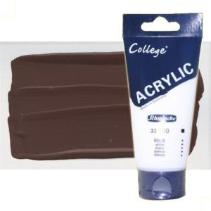 totenart-acrilico-schmincke-college-marron-oscuro-200-ml