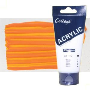 totenart-acrilico-schmincke-college-naranja-200-ml