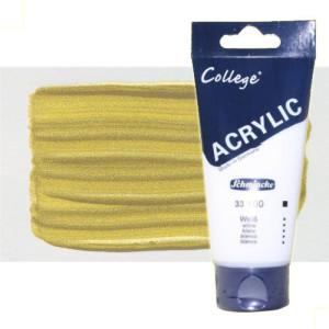 totenart-acrilico-schmincke-college-oro-200-ml