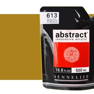 Totenart. Acrilico Sennelier Abstract Ocre Amarillo 252, 500 ml.