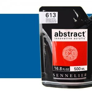 Totenart. Acrilico Sennelier Abstract Azul Primario 385, 500 ml.
