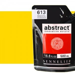 Totenart. Acrilico Sennelier Abstract Amarillo Primario 574, 500 ml.