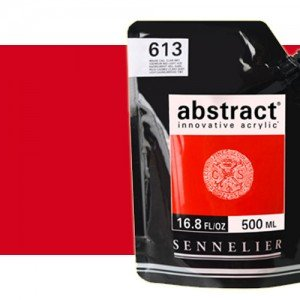 Totenart. Acrilico Sennelier Abstract Vermellón 674, 500 ml.