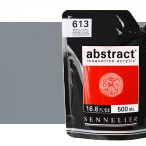 Totenart. Acrilico Sennelier Abstract Gris Neutro 701, 500 ml.