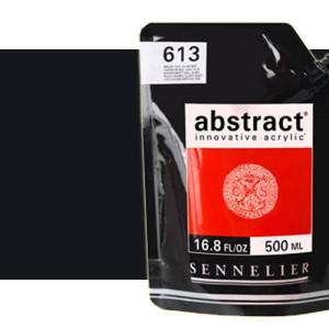 Totenart. Acrilico Sennelier Abstract Negro de Marte 759, 500 ml.