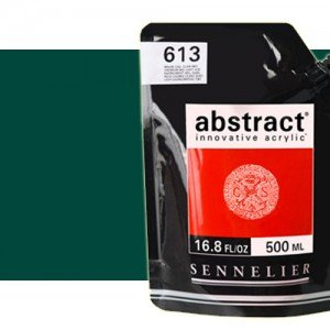 Totenart. Acrilico Sennelier Abstract Verde Ftalo 896, 500 ml.